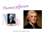 Thomas Jefferson - Team Lewis Wikispace