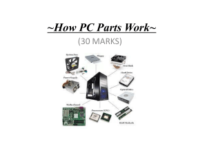 How PC Parts Work