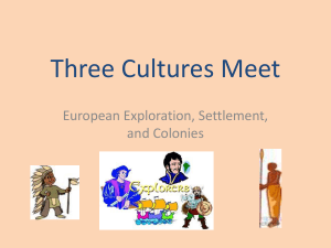 Three Cultures Meet