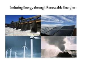 Why use renewable energy?