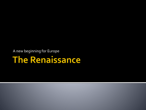 The Renaissance (world)