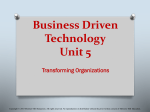 Chapter 19 Managing Organizational Projects