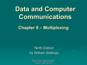Chapter 8 - William Stallings, Data and Computer