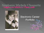 Stephanie Michele Choquette - Eagle Grove Community School