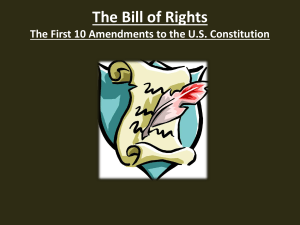 Bill of Rights ppt.