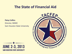 Federal Direct Loans (Cont`d) - Sam Houston State University