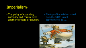 Imperialism 2014 - Thompsonsocialstudies8