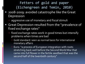 Fetters of gold and paper