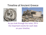 Ancient Greece Timeline