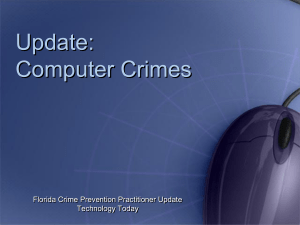 Computer Crimes - Crime Prevention HQ