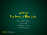 Fertilizer OUtlook
