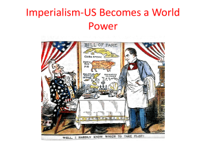 Imperialism-US Becomes a World Power
