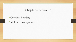 chapter 6 sec 2 resonance structure