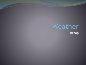18. Weather – Recap - hrsbstaff.ednet.ns.ca
