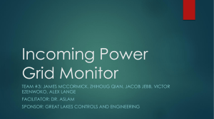 Incoming Power Grid Monitor