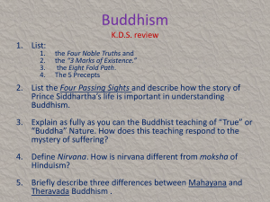 Buddhism K.D.S. review