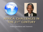 Africa: Challenges in the 21st Century