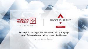 5 Step Strategy to Successfully Engage your Audience