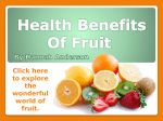 Fruit and Brain Health