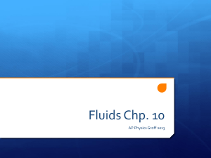 Fluids Chp. 10 - Marlington Local Schools