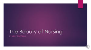The Beauty of Nursing