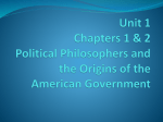 Chapter 1, Section 1 *Government and the State*