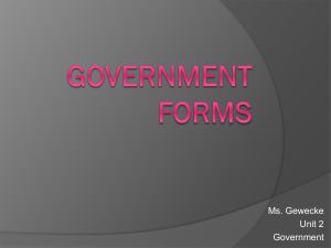 Government Forms - Nutley Public Schools