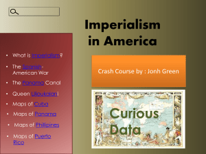 What is the Imperialism?