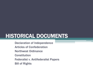 Historical Documents - Mayfield City Schools