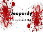 Jeopardy - StudyMacbeth