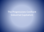 The Progressives Confront Industrial Capitalism