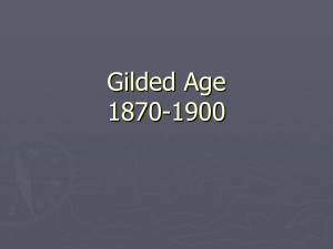 Gilded Age Unit (1870