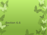 Section 6.6