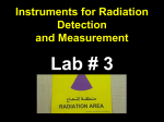 Instruments for Radiation Detection and Measurement