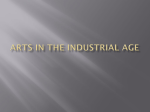 Arts in the Industrial Age - Casillas