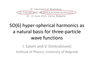 Permutation-symmetric three-particle hyper