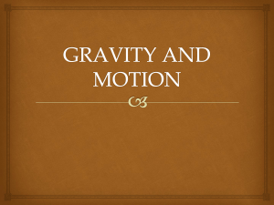 gravity and motion - carswellsciencetms