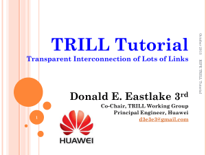 TRILL Tutorial