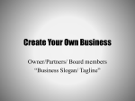 Create Your Own Business