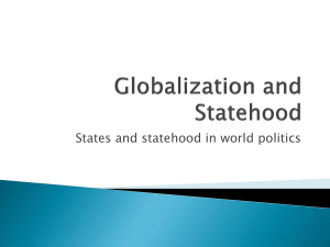 Globalization and Statehood File