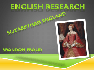 Elizabethan England by Brandon Froud