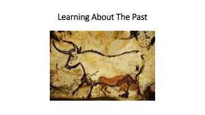 Learning About The Past