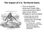 The Impact of US Territorial Gains