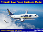 europe`s only ultra low cost carrier