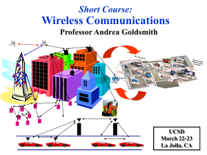 Wireless Communications Research Overview