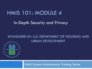 Sponsored by: US Department of Housing and