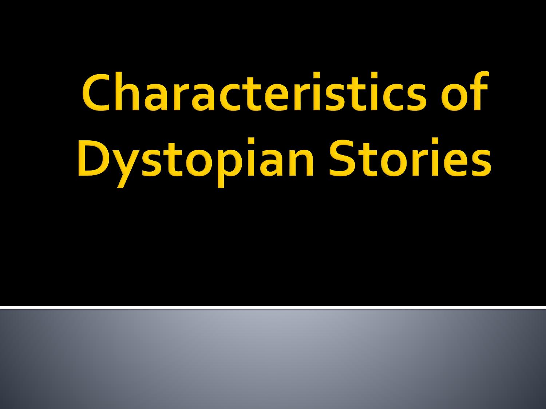 dystopian stories