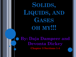 Solids, Liquids, and Gases oh my!!! - super