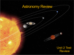 Astronomy Review fall 2013