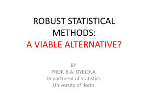 Robust nonparametric statistical methods.